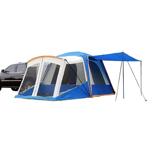 A larger model than the NAPIER Backroadz the Sportz SUV Blue/Grey Tent with Screen Room can sleep up to 6 people with an additional two in the loading area ...  sc 1 st  Truck Tents & Top 3 SUV tents | Comparison and Reviews 2018