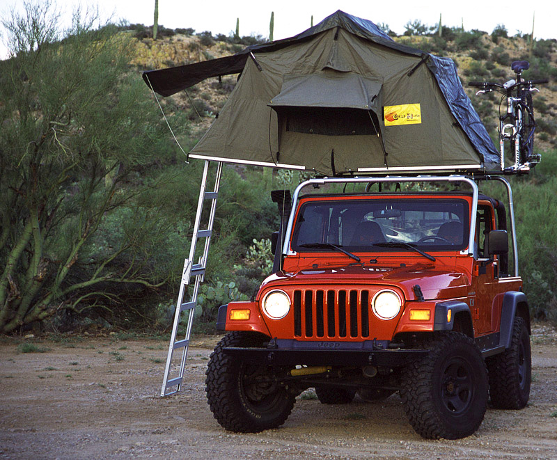 1.How to prepare for a camping trip with your new SUV rooftop tent