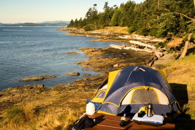 1.The best camping grounds in Canada
