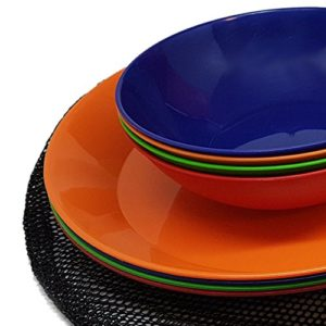 ... than enjoying a good meal with your friends and family while going on a c&ing holiday. Because itu0027s impossible to bring all of your house dinnerware ...  sc 1 st  Truck Tents & Top 3 camping dinnerware sets | Comparison and Reviews 2018